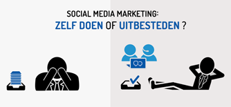 Social media uitbesteden? Ja of nee?