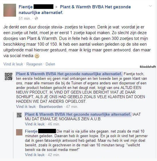 Stomme webcare fail, advies: social media uitbesteden