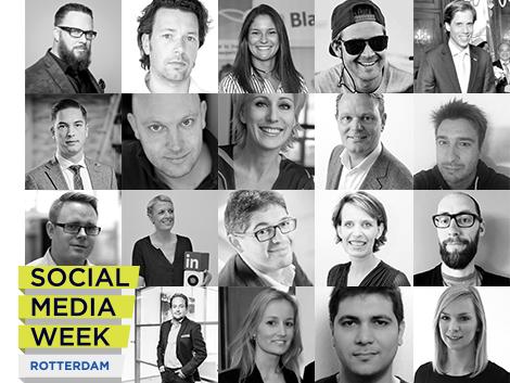 Social media week Rotterdam 2015 sprekers