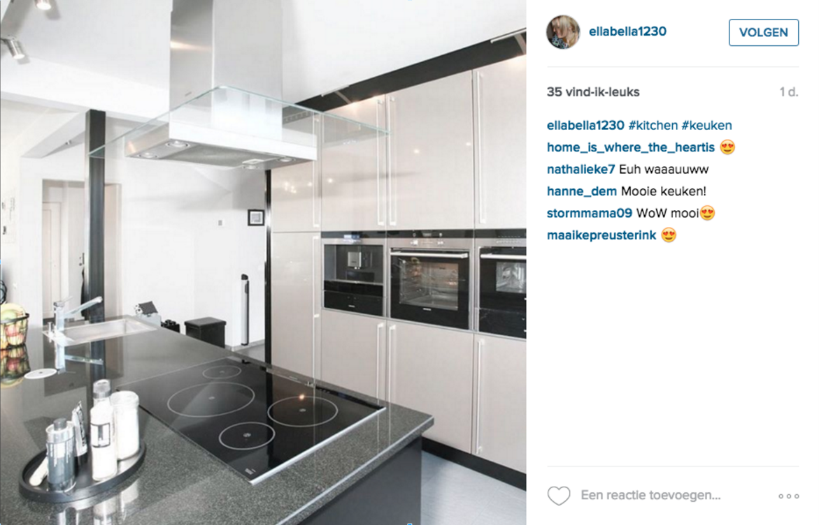 Meer volgers op pinterest twitter en instagram - Keuken platform ...