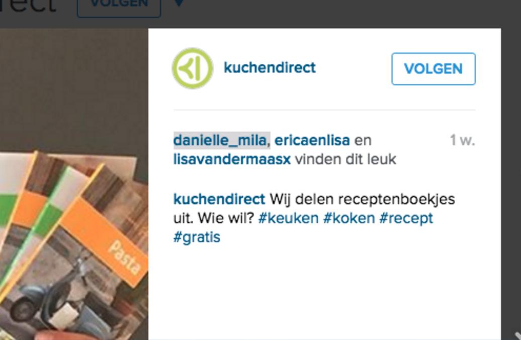 Instagram volgen Socialfabriek 2