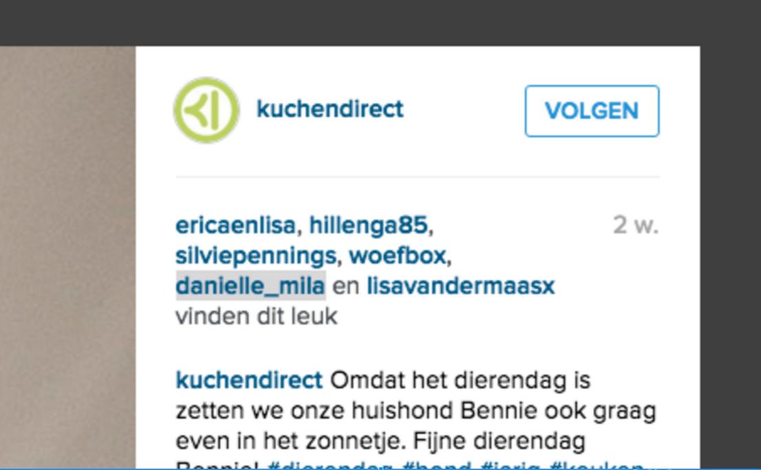 Instagram volgen Socialfabriek