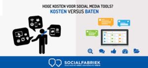 Kosten versus baten SocialFabriek