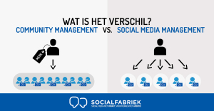 social media management vs community management