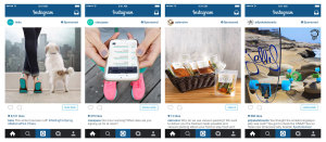 Instagram sponsored posts met CTA