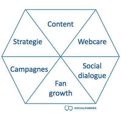 Onderdelen social media scan Socialfabriek