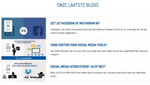 Blogs door socialfabriek