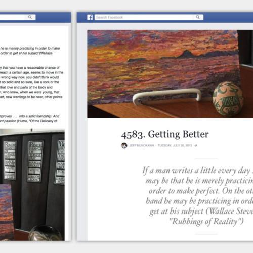 De vernieuwde Facebook blog. Zakelijk interessant?