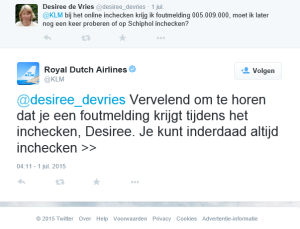 300.000 excuses op social media
