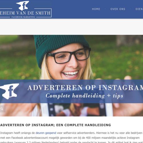 Gespot: Adverteren op Instagram; een complete handleiding