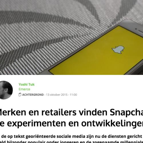 Gespot: Snapchat, de experimenten en ontwikkelingen