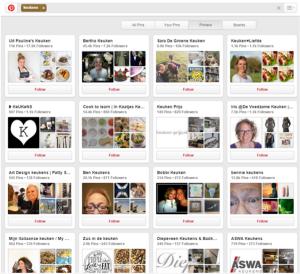 Pinterest voorbeeld keukenleverancier 3