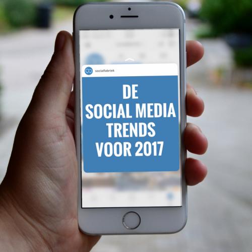 8 Social media trends voor 2017